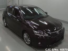 lexus ct200h used car for sale 2013 lexus ct200h black for sale stock no 40870 japanese used