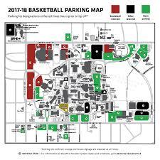 Wsu Map Shocker Parking Men U0027s Basketball Parking Wichita State University