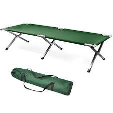 Portable Folding Bed World Pride Single Aluminum Portable Folding Cing Bed Cot