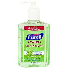 kosher mouthwash purell sanitizer advanced refreshing aloe 8 oz breadberry