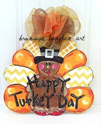turkey door hanger traditional thanksgiving turkey day door hanger bronwyn hanahan