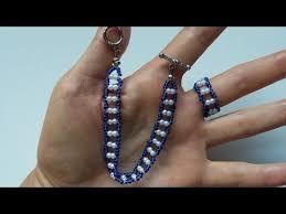 beads bracelet easy images Easy bracelet pattern for beginners seed beads bracelet and ring jpg