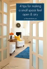 Small Space Remodelaholic How To Open Up A Small Congested Space