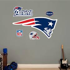 fathead new england patriots logo wall decal walmart com