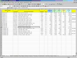 Spreadsheet For Excel Spreadsheet For Construction Estimating Templates