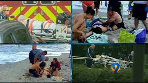 Florida Shark Attack Map Interactive Map Saltier Warmer Water Factor For Increase In
