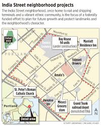 Portland Maine Zoning Map by India Street Neighborhood Takes The Long View Portland Press Herald