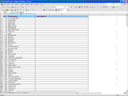 Inventory List Excel Template 7 Excel Inventory Template Procedure Template Sample