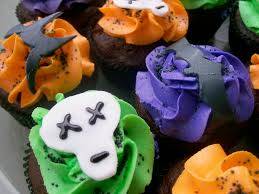 halloween cupcakes angel cakes