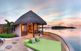 House Over Water Staying In An Overwater Bungalow In Fiji Koro Sun