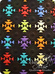 Interesting Color Combinations by Ruby Blue Quilting Studio Farmpark Show Part 2