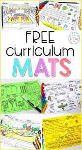 reading curriculum for kindergarten grab the free curriculum mats teaching resource to practice and