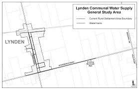 Hamilton Ontario Map Lynden Communal Water Supply City Of Hamilton Ontario Canada