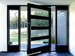 All Glass Exterior Doors Front Door Modern Design Modern Contemporary Front Doors Modern
