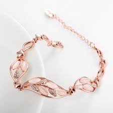new arrival fashion style gold plated alloy snake shape women korean flower gold plated alloy rhinestone 22cm snake chain