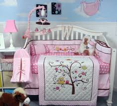 Boy Owl Crib Bedding Sets Soho Cherry Blossom Crib Nursery Bedding Set
