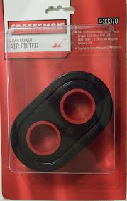 amazon com craftsman lawn mower filter lawn mower air filters