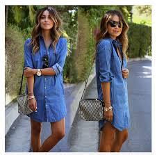 denim shirt dress women new t shirt design