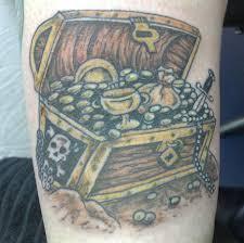 marlin tattoo kuta pirate chest tattoo treasure chest tattoo flash eric pinterest