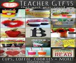 cute homemade teacher gifts for christmas best images