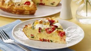 Lidia S Kitchen Recipes by Lidia Bastianich U0027s Tomato Pepper Bread U0026 Ricotta Frittata