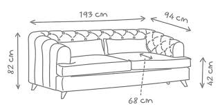 Sofa Bed Dimensions Earl Grey Sofa Bed Love Your Home