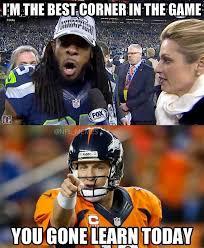 Peyton Manning Meme - nfl memes on twitter peyton manning vs richard sherman http t