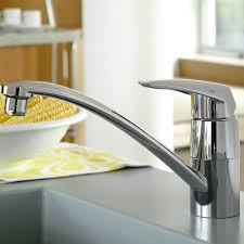 grohe 33770001 eurodisc kitchen tap 140 degree swivel range