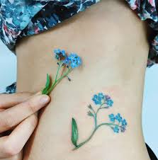 what does flower tattoos really mean forget me not flowers tattoo meaning 1000 images about alzheimer u0027s