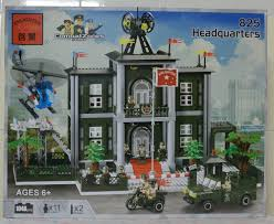 Lego Headquarters Bricker Construction Toy By Enlighten Brick 825 Headquarters
