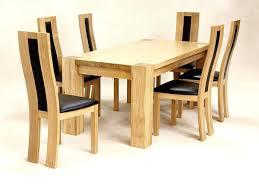 solid oak dining room table sets furniture ebay and 6 chairs used solid wood dining room table and chairs oak 8 furniture ebay