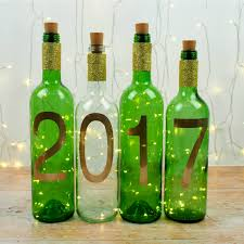 Wine Bottles With Lights Simple New Year Craft Diy Wine Bottle Lights Mum In The Madhouse