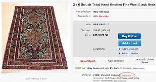 Ebay Antique Persian Rugs by 7 Tips For Buying Rugs On Ebay U2013 Red House West