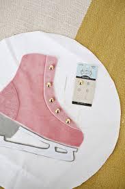 ice skate pillow diy u2013 a beautiful mess