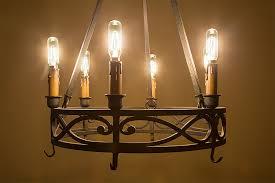 Light Bulb Chandeliers T8 Led Filament Bulb 40 Watt Equivalent Candelabra Led Vintage