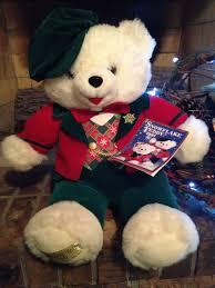 stuffed teddy bears walmart com 1997 dandee walmart snowflake teddy replacement loveys