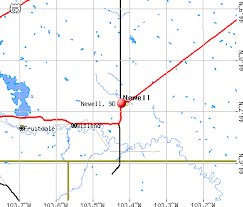 south dakota map with cities newell south dakota sd 57760 profile population maps