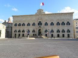 Maltese Flag Meaning File Auberge De Castille Et Leon In Castille Square Valletta