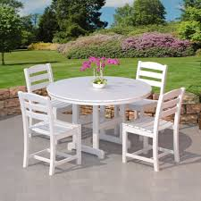 Poly Lumber Outdoor Furniture Polywood La Casa Cafe Outdoor Dining Set Commercial Collections