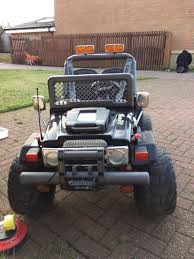 nerf gun jeep kids electric car gaucho super 24v jeep in east kilbride