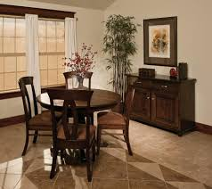 amish dining room sets amish round pedestal dining table classic solid wood traditional