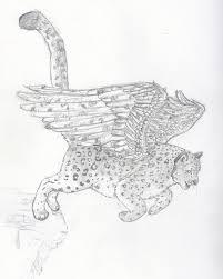 leopard spot butterfly design