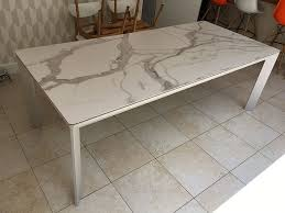 ceramic top dining room tables urban fixed ceramic top dining table ceramic in marble effect
