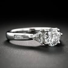 Contemporary Wedding Rings by Engagement Rings A Backward Glance Aju