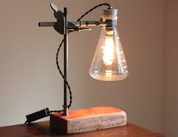 industrial desk lamp science steampunk table light cool chemistry