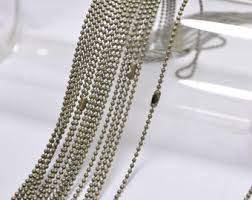 necklace chains wholesale images Wholesale ball chain etsy jpg