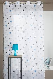 voilage chambre enfant motif étoile decoboutique