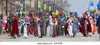 parade clowns stock photos parade clowns stock images alamy