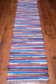 Rag Runner Rug Hallway Rag Rug Runner 60x245cm