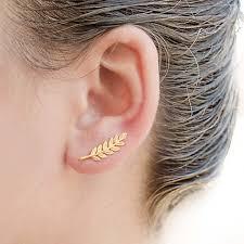 ear earings online shop 1pair fashion women ear sweep wrap silver gold